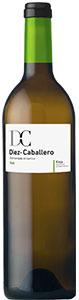 Vino blanco fermentado en barrica de la bodega Díez-Caballero